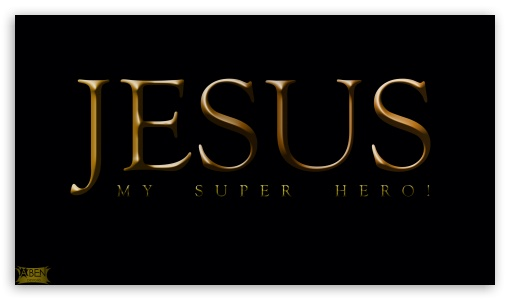 Jesus - Super Hero HD wallpaper for HD 16:9 High Definition WQHD QWXGA 1080p 900p 720p QHD nHD ;