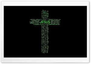 Jesus Cross Hi Tech HD Wide Wallpaper for 4K UHD Widescreen desktop & smartphone