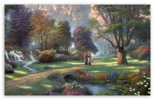 Jesus Painting by Thomas Kinkade HD wallpaper for Wide 16:10 5:3 Widescreen WHXGA WQXGA WUXGA WXGA WGA ; HD 16:9 High Definition WQHD QWXGA 1080p 900p 720p QHD nHD ; Standard 4:3 5:4 3:2 Fullscreen UXGA XGA SVGA QSXGA SXGA DVGA HVGA HQVGA devices ( Apple PowerBook G4 iPhone 4 3G 3GS iPod Touch ) ; Tablet 1:1 ; iPad 1/2/Mini ; Mobile 4:3 5:3 3:2 16:9 5:4 - UXGA XGA SVGA WGA DVGA HVGA HQVGA devices ( Apple PowerBook G4 iPhone 4 3G 3GS iPod Touch ) WQHD QWXGA 1080p 900p 720p QHD nHD QSXGA SXGA ; Dual 16:10 5:3 4:3 5:4 WHXGA WQXGA WUXGA WXGA WGA UXGA XGA SVGA QSXGA SXGA ;