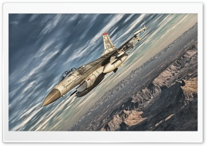 Jet Fighter HDR HD Wide Wallpaper for 4K UHD Widescreen desktop & smartphone
