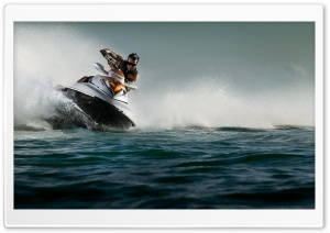 Jet Ski HD Wide Wallpaper for Widescreen