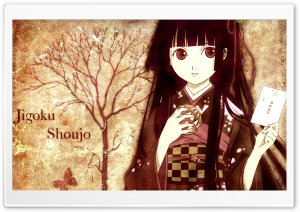 Jigoku Shoujo Girl From Hell HD Wide Wallpaper for Widescreen