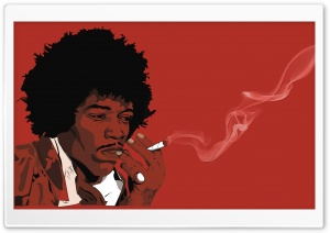 Jimi Hendrix HD Wide Wallpaper for Widescreen