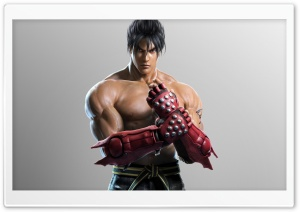 Jin Kazama HD Wide Wallpaper for Widescreen