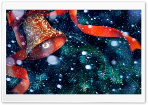 Jingle Bells Ultra HD Wallpaper for 4K UHD Widescreen desktop, tablet & smartphone