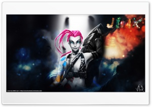 Jinx - League of Legends HD Wide Wallpaper for Widescreen