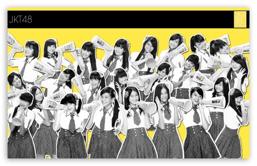 JKT48 HD wallpaper for Wide 16:10 5:3 Widescreen WHXGA WQXGA WUXGA WXGA WGA ; HD 16:9 High Definition WQHD QWXGA 1080p 900p 720p QHD nHD ; Mobile 5:3 16:9 - WGA WQHD QWXGA 1080p 900p 720p QHD nHD ;