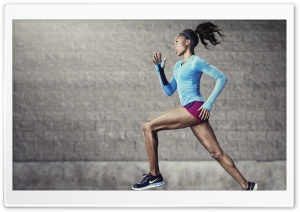 Jogging HD Wide Wallpaper for 4K UHD Widescreen desktop & smartphone
