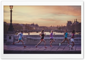Jogging HD Wide Wallpaper for Widescreen