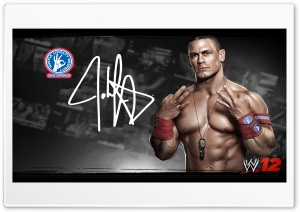 John-Cena_WWE12 HD Wide Wallpaper for Widescreen