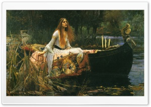 John William Waterhouse Painting HD Wide Wallpaper for Widescreen