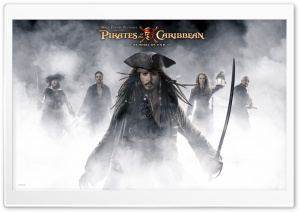Johnny Depp Pirates Of The Caribbean At World's End HD Wide Wallpaper for Widescreen