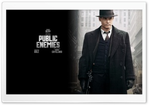 Johnny Depp Public Enemies HD Wide Wallpaper for Widescreen