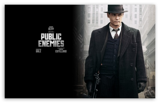 Johnny Depp Public Enemies HD wallpaper for Wide 16:10 5:3 Widescreen WHXGA WQXGA WUXGA WXGA WGA ; HD 16:9 High Definition WQHD QWXGA 1080p 900p 720p QHD nHD ; Standard 4:3 3:2 Fullscreen UXGA XGA SVGA DVGA HVGA HQVGA devices ( Apple PowerBook G4 iPhone 4 3G 3GS iPod Touch ) ; iPad 1/2/Mini ; Mobile 4:3 5:3 3:2 16:9 - UXGA XGA SVGA WGA DVGA HVGA HQVGA devices ( Apple PowerBook G4 iPhone 4 3G 3GS iPod Touch ) WQHD QWXGA 1080p 900p 720p QHD nHD ;