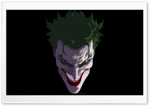 Joker Face HD Wide Wallpaper for 4K UHD Widescreen desktop & smartphone