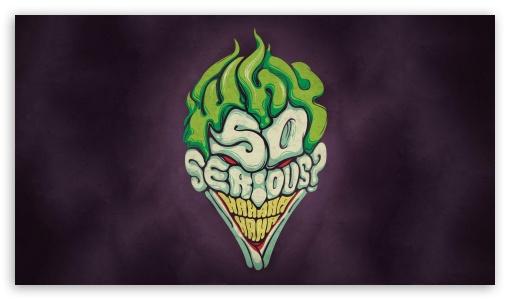 Download Joker Why So Serious HD Wallpaper