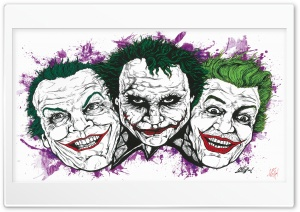 Jokers Ultra HD Wallpaper for 4K UHD Widescreen desktop, tablet & smartphone