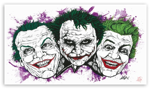 Jokers ❤ 4K UHD Wallpaper for 4K UHD 16:9 Ultra High Definition 2160p 1440p 1080p 900p 720p ; Mobile 16:9 - 2160p 1440p 1080p 900p 720p ;