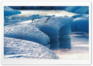 Jokulsarlon, Iceland HD Wide Wallpaper for Widescreen