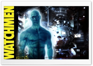 Jon Osterman Dr. Manhattan Watchmen HD Wide Wallpaper for 4K UHD Widescreen desktop & smartphone