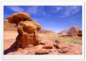 Jordan Wadi Rum HD Wide Wallpaper for Widescreen