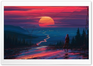 Journey Painting Ultra HD Wallpaper for 4K UHD Widescreen desktop, tablet & smartphone