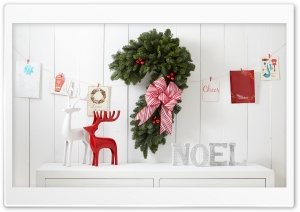 Joyeux Noel Ultra HD Wallpaper for 4K UHD Widescreen desktop, tablet & smartphone