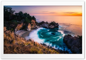 Julia Pfeiffer Burns Beach at...