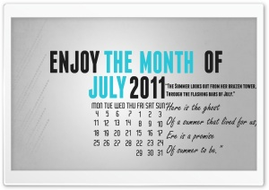 July 2011 HD Wide Wallpaper for Widescreen