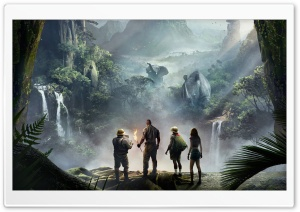 Jumanji Welcome to the Jungle Film, Cinema Movie HD Wide Wallpaper for 4K UHD Widescreen desktop & smartphone