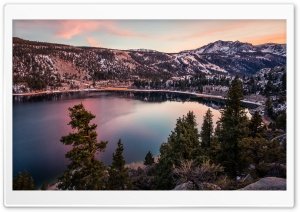 June Lake, California HD Wide Wallpaper for 4K UHD Widescreen desktop & smartphone