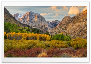 June Lake Loop California HD Wide Wallpaper for Widescreen