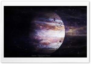 Jupiter HD Wide Wallpaper for Widescreen