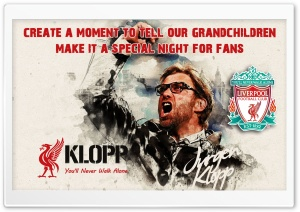 Jurgen Klopp Ultra HD Wallpaper for 4K UHD Widescreen desktop, tablet & smartphone
