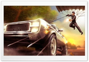 Just Cause HD Wide Wallpaper for Widescreen