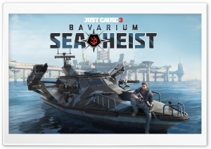 Just Cause 3 Bavarium Sea Heist HD Wide Wallpaper for Widescreen