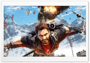 Just Cause 3 Gliding HD Wide Wallpaper for 4K UHD Widescreen desktop & smartphone