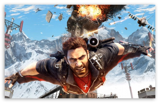 Just Cause 4 Wallpaper: Just Cause 3 Gliding 4K HD Desktop Wallpaper For 4K Ultra