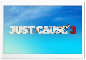 Just Cause 3 Logo Sky HD Wide Wallpaper for 4K UHD Widescreen desktop & smartphone