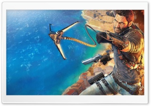 Just Cause 3 Rico HD Wide Wallpaper for Widescreen