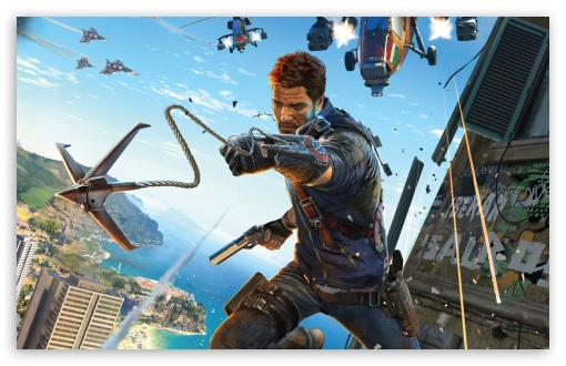 Download Just Cause 3 Video Game 2015 HD Wallpaper