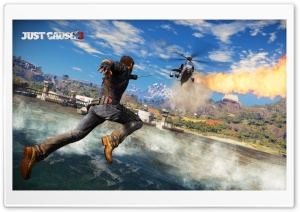 Just Cause 3 HD Wide Wallpaper for Widescreen