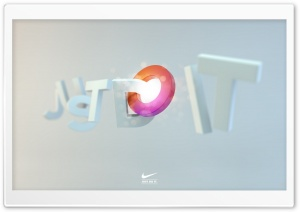Just Do It HD Wide Wallpaper for Widescreen