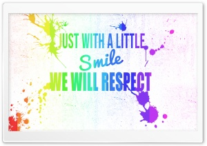 Just Smile HD Wide Wallpaper for Widescreen