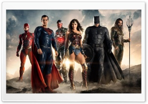 Justice League 2017 Movie HD Wide Wallpaper for Widescreen