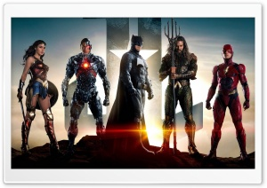 Justice League Superheroes HD Wide Wallpaper for Widescreen