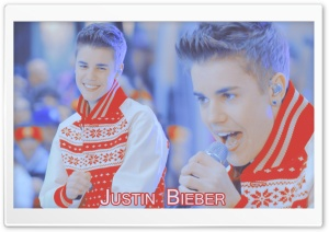 Justin Bieber Christmas HD Wide Wallpaper for Widescreen