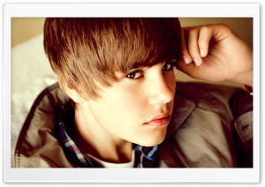 Justin Bieber Young HD Wide Wallpaper for Widescreen