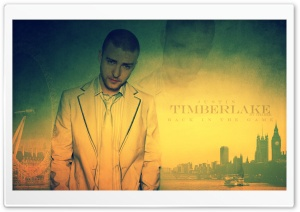 Justin Timberlake Back In The Game HD Wide Wallpaper for Widescreen