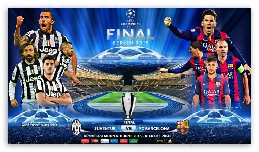 Juventus Fc Barcelona Champions League Final Ultra Hd Desktop Background Wallpaper For 4k Uhd Tv Tablet Smartphone